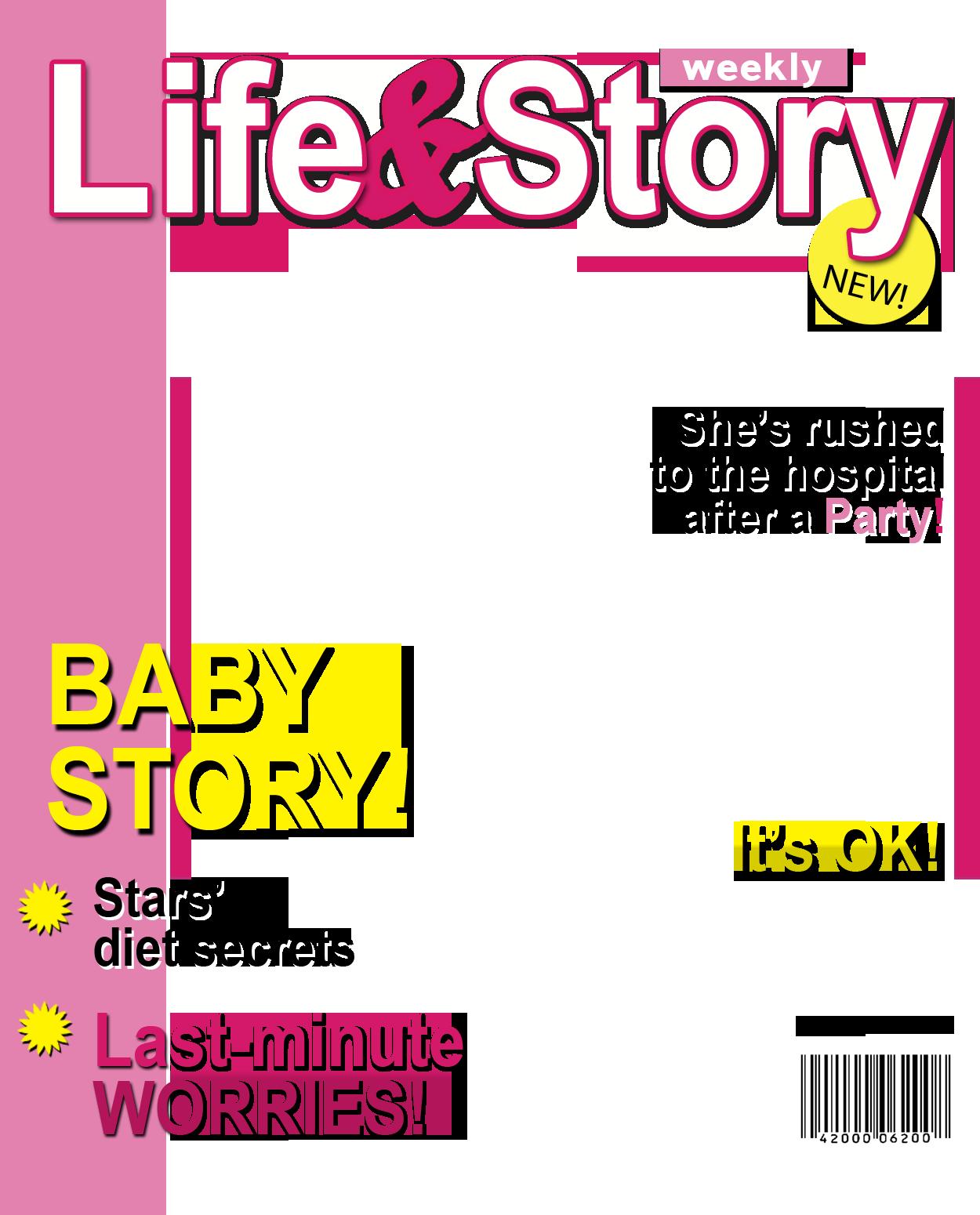 fake magazine cover generator